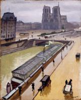 Марке, Альбер. Дождливый день в Париже