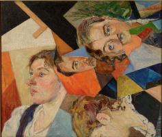Давид Давидович Бурлюк. Семейный портрет