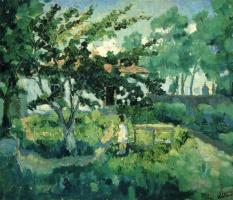 Kazimir Malevich. Summer landscape