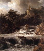 Якоб Исаакс ван Рейсдал. Замок на скале