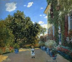 Клод Моне. Дом художника в Аржантее