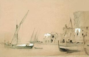 Ivan Aivazovsky. Sorrento. Sea view