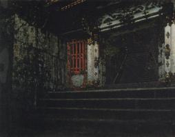 Василий Васильевич Верещагин. Вход в храм Никко