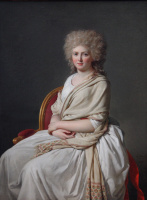 Jacques-Louis David. Portrait of Anne-Marie-Louise Thelusson, Countess Corsi