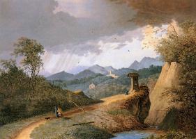 Маттьюз Книп. Горный пейзаж