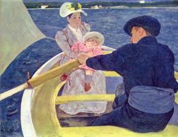 Мэри Кассат. Катание на лодке