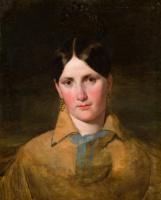 Фридрих фон Амерлинг. Портрет Антонии фон Кальтентхалер, первой жены Амерлинга. 1840