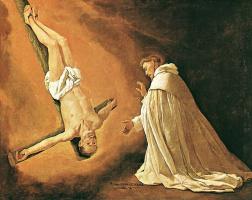 Франсиско де Сурбаран. Явление апостола Святого Петра