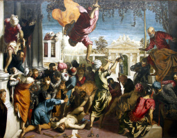 Jacopo Tintoretto. The Miracle of the Slave. The Miracle of St. Mark