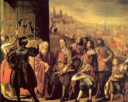 Антонио де Переда. Вооруженные