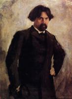 Валентин Александрович Серов. Портрет художника В.И. Сурикова