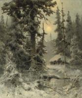 Юлий Юльевич Клевер. После снегопада