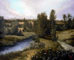 Сергей Николаевич Ходоренко-Затонский. Воронеж. Река Девица
