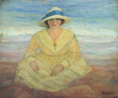 Анри Лебаск. На пляжу