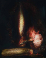 Ольга Акаси. Натюрморт с сигарой