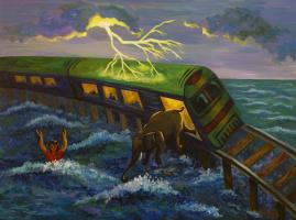 Сон. Крушение поезда.