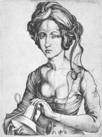 Martin Schongauer. Girl