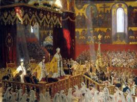 Лауритс Регнер Туксен. Коронация Николая II и Александры Федоровны