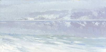 Kozhin Semyon. Morning. Fog on the Volga