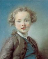Жан-Баптист-Баптист-Баптист - Баптист Пеппоннеау. Портрет ребенка