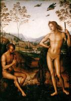 Пьетро Перуджино. Аполлон и Марсий