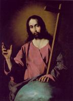 Франсиско де Сурбаран. Спаситель благословляет