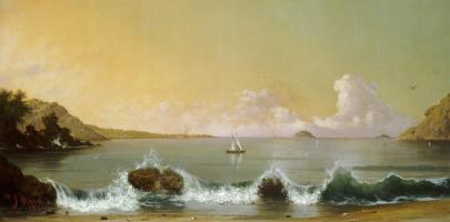 Мартин Джонсон Хед. Залив у Рио-де-Жанейро