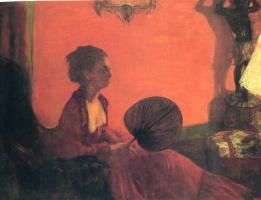 Edgar Degas. Madame Camus