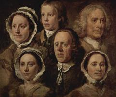 William Hogarth. Servant of the artist