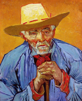 Vincent van Gogh. Portrait of an old peasant Patience eskal'e