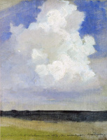 Исаак Ильич Левитан. Облако