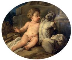 Жан Франсуа Де Труа. Аллегория скульптуры.