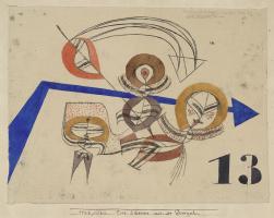 Paul Klee. Scherzo with Thirteen