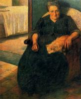 Умберто Боччони. Женщина в кресле