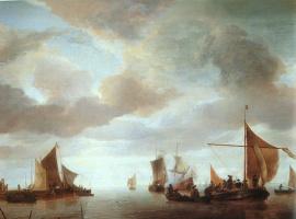 Ван Ян Каппель. Пасмурное небо