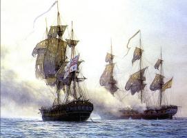 Марк Майерс. Парусное судно 16