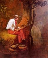 Джордж Калеб Бингем. Рыбак