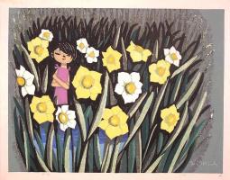 Шузо Икеда. Желтые цветы