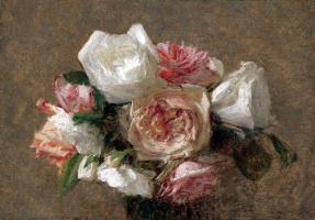 Виктория Дюбург (Фантен-Латур). Букет роз