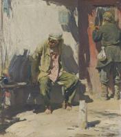Abram Arkhipov. Beggars