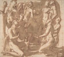 Джованни Бальоне (Баглионе). Группа обнаженных фигур