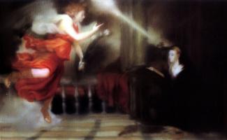 Gerhard Richter. The Annunciation