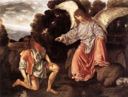 Джованни Джироламо Саволдо. Тобиас и Ангел