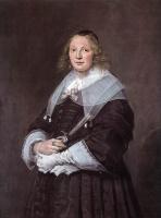 Франс Хальс. Портрет стоящей женщины