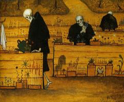 Hugo Simberg. The garden of death