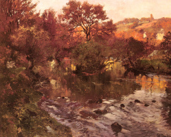 Фриц Таулов. Золотая осень Бретань