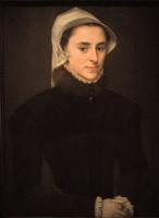 Антонис ван Дасхорст Мор. Портрет Жанны Лулье, жены Симона Ренара