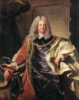 Гиацинт Риго. Портрет графа Синзендорфа