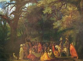 Адам Эльсхаймер. Проповедь Иоанна Крестителя