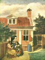 Питер де Хох. Двор
